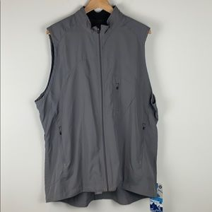 Lululemon Speed Vest in Grey Men's Size XXL